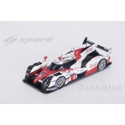 TOYOTA  TS050 - Hybrid - HY n°6 LMP1 2ème 24h du Mans 2016 Toyota Gazoo Racing - S. Sarrazin - M. Conway - K. Kobayashi