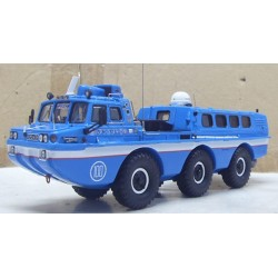 DIP 249061 ZIL-49061 BLUE BIRD AVEC COMPARTIMENT 1.43