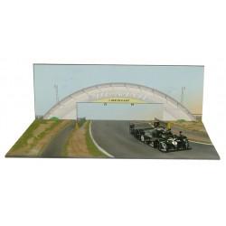 L'EAU ROUGE D92 LE MANS PONT DUNLOP BRIDGE 1.43