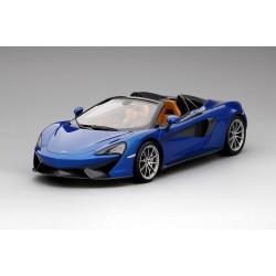 TOPSPEED TS0124 McLAREN 570S Spider Antares Blue (999 ex)