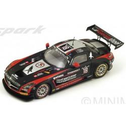 SPARK SB085 MERCEDES SLS AMG GT3 N°18 24H SPA 2014 B