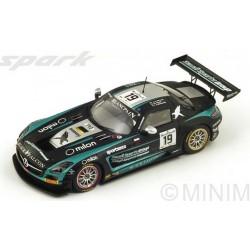 SPARK SB092 MERCEDES SLS AMG GT3 N°19 24H SPA 2014