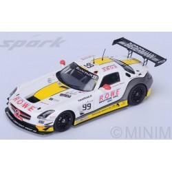 SPARK SB107 MERCEDES SLS AMG GT3 N°99 16ème