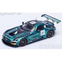 SPARK SB111 MERCEDES SLS AMG GT3 N°21 12ème