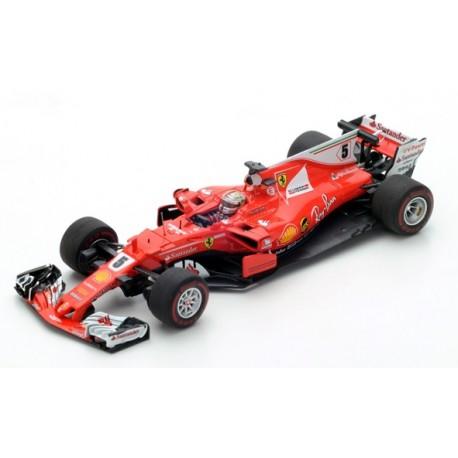 LOOKSMART LS18F109 SCUDERIA FERRARI SF70H Vainqueur Monaco GP 2017- Sebastian Vettel