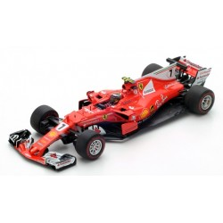 LOOKSMART LS18F1010 SCUDERIA FERRARI SF70H 2ème  Monaco GP 2017- Kimi Räikkönen