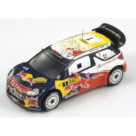 CITROEN DS3 WRC ESPAGNE 2011 N°1 S.LOEBS