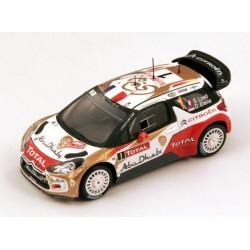 SPARK S3353 CITROEN DS3 WRC MC 2013 N°1 VAINQUEURS