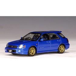 AUTO ART 58631 SUBARU NEW AGE IMPREZA WRX STI WAGON BLUE 1.43
