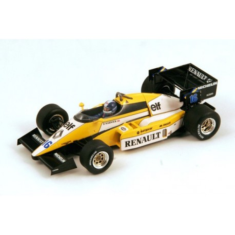 SPARK S3850 RENAULT RE50 GP F1 GB 1984 N°16