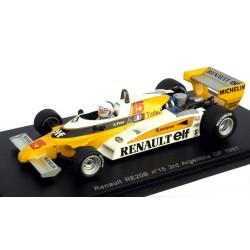 SPARK S3851 RENAULT RE20B N°15 GP F1 Argentine 1981