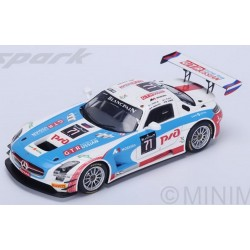 SPARK SB117 MERCEDES SLS AMG GT3 N°71 GT