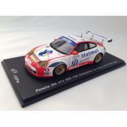 SPARK SPR003 PORSCHE 996 GT3 RSR N°36 CHAMPIONNE DE FRANCE GT2 FFSA 2006 1.43