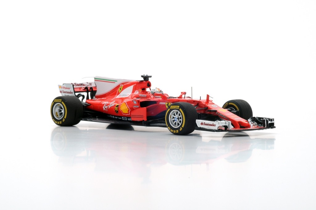 looksmart lsf107 ferrari scuderia ferrari sf70h vainqueur gp australie 2017 sebastian vettel. Black Bedroom Furniture Sets. Home Design Ideas