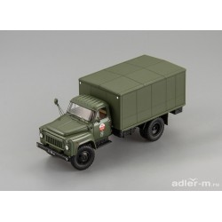 DIP MODELS 105317 AFK-53 Delivery truck for Soviet Army