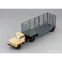 DIP MODELS 905201 GAZ-52-06 tractor '1975 with semitrailer U-44