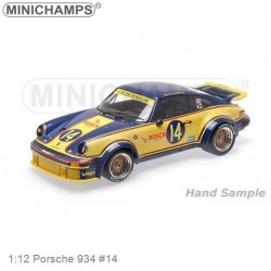 MINICHAMPS 125766414 PORSCHE 934 DICKINSON N°14 1/12