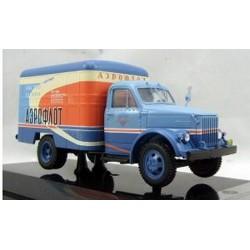 DIPMODEL 105107 GAZ-51 VAN BOX AEROFLOT