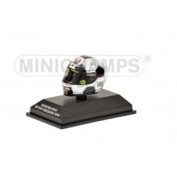 MINICHAMPS 398080086 AGV HELMET V.ROSSI BARCELONA 2008 1.8