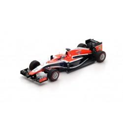 SPARK SP176 MARUSSIA MR03 9ème GP Monaco 2014- Jules Bianchi (1/43)