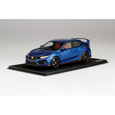 TOP SPEED TS0160 HONDA Civic Type R Aegean Blue Metallic (RHD)