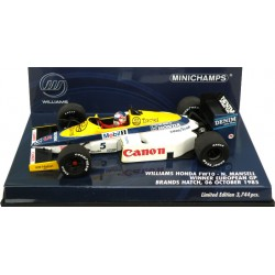 MINICHAMPS 400850005 WILLIAMS FW10 1985 MANSELL BRANDS HATCH 1.43