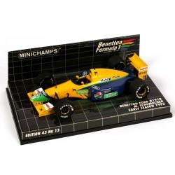 MINICHAMPS 400920119 BENETTON FORD B191B F1 92 No19 SCHUMACHER 1.43