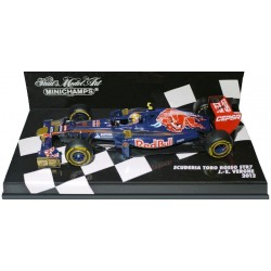 MINICHAMPS 410120017 TORO ROSSO STR7 F1 No17  2012 J.E.VERGNE 1.43
