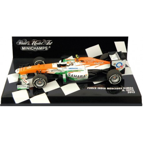 MINICHAMPS 410130015 FORCE INDIA VJM06 SUTIL 2013 1.43