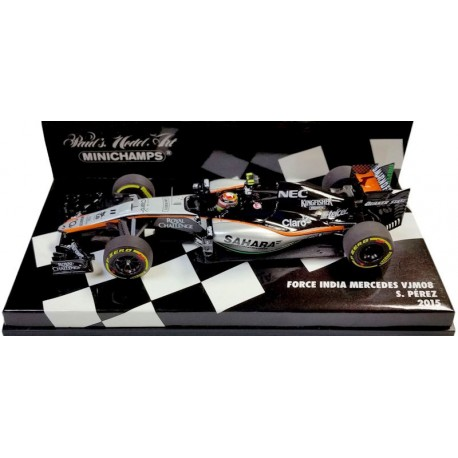 MINICHAMPS 417150011 FORCE INDIA VJM08 N°11 PEREZ 2015 1.43