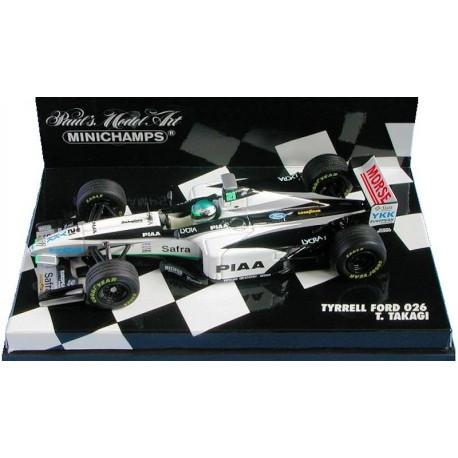 MINICHAMPS 430980020 TYRRELL FORD 026 ROSSET 1.43
