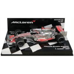 MINICHAMPS 530074301 Mc LAREN MP4-22 F1 2007 No1 ALONSO  1.43