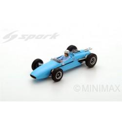 SPARK S4332 BRABHAM BT3 N°16 GP Allemange 1962 - Jack Brabham
