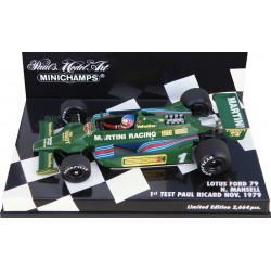 MINICHAMPS 400790099 LOTUS FORD 79 TEST MANSELL 11/1979 1.43