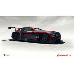 SPARK 18SA003 BENTLEY Continental GT3 N°8 GP Macau- GT Cup 2015