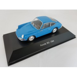 PORSCHE COLLECTION 7114001 PORSCHE 901 1964 BLEU 1.43