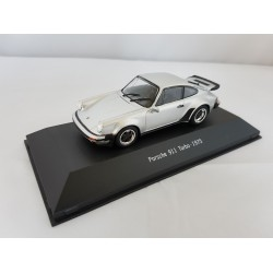 PORSCHE COLLECTION 7114005 PORSCHE 911 TURBO 930 1975 ARGENT 1.43
