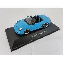 PORSCHE COLLECTION 7114011 PORSCHE 911 SPEEDSTER 997 2010 BLEU 1.43