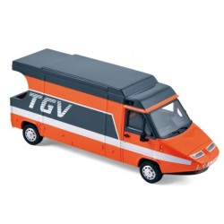 PROVENCE MOULAGE PM0099 CAMION TGV 1983 TDF ORANGE 1.43