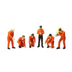 TRUESCALE TSM11AC01 Diorama: Pit Crew Figurines