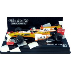 MINICHAMPS 400090007 RENAULT F1 R29 2009 No7 ALONSO 1.43