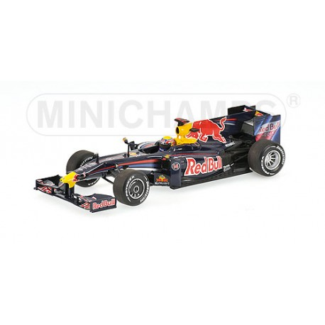 MINICHAMPS 400090014 RED BULL RB5 F1 2009 No14 WEBBER 1.43
