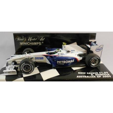 MINICHAMPS 400090006 BMW SAUBER F1 2009 No6 HEIDFELD 1.43