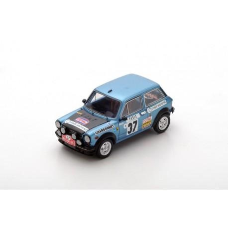 SPARK S3640 A112 Abarth N°37 Monte Carlo Rally 1977- M.Mouton- F.Conconi