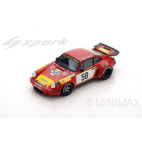 SPARK S5088 PORSCHE Carrera RSR N°58 24 Heures Le Mans 1975- J.Fitzpatrick- G. Van Lennep- M. Schurti