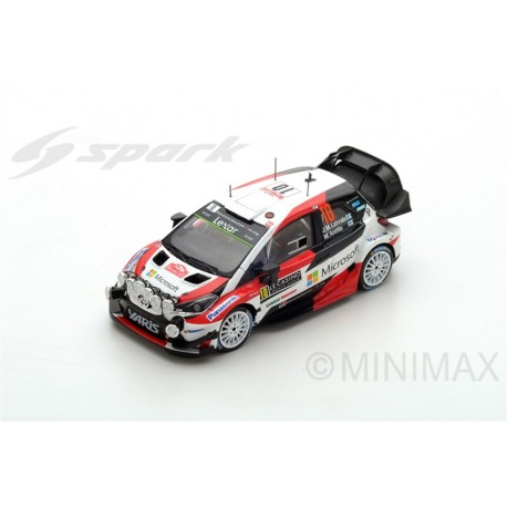 SPARK S5163 TOYOTA Yaris WRC N°10 2ème Rally Monte Carlo 2017- J.-M Latvala- M. Anttila