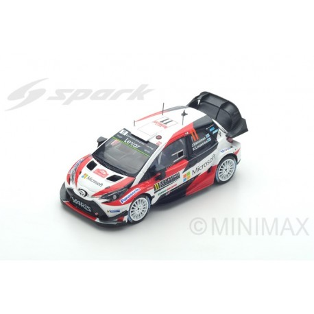 SPARK S5164 TOYOTA Yaris WRC N°11 Rally Monte Carlo 2017- J. Hänninen- K. Lindström