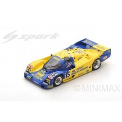 SPARK S5508 PORSCHE 962 C N°15 24H Le Mans 1990 - H. Huysman - M. Sigala - B. Santal
