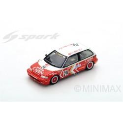 SPARK SA126 HONDA Civic EF3 N°24 3ème Grp3 Macau Guia Race 1989- Masami Miyoshi (300 ex)