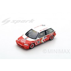 SPARK SA127 HONDA Civic EF3 N°25 2ème Grp3 Macau Guia Race 1989- Yasuo Muramatsu (300 ex)
